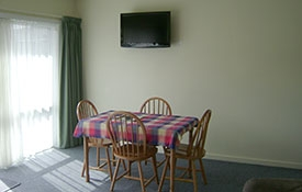 dining area of two-bedroom unit