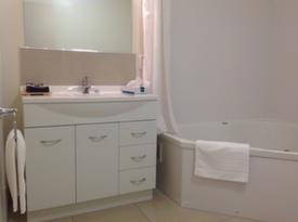 separate bathroom