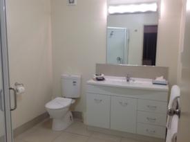 ensuite bathroom with walk-in shower