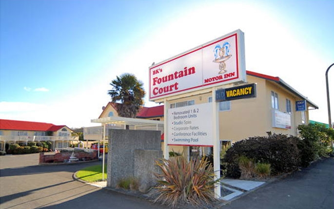 central Napier location