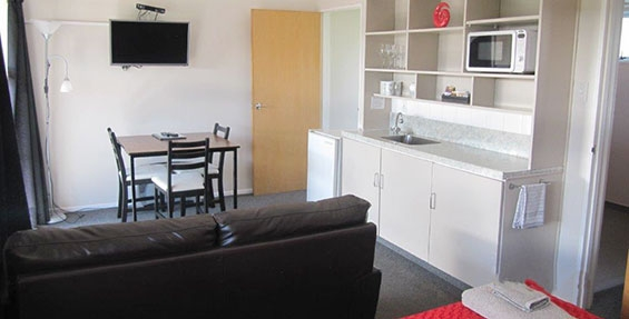 1-bedroom unit kitchenette