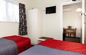studio unit which can accommodate two persons
