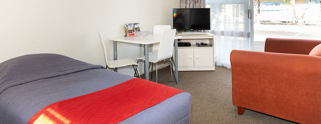 our motel units are much more spacious than many modern-day hotels or motels