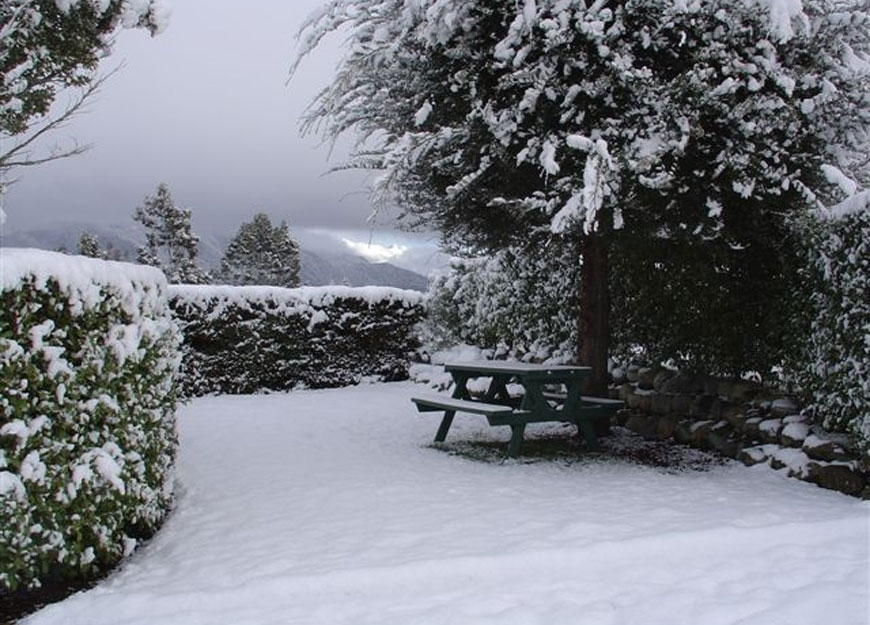 breath-taking views of Fiordland mountains