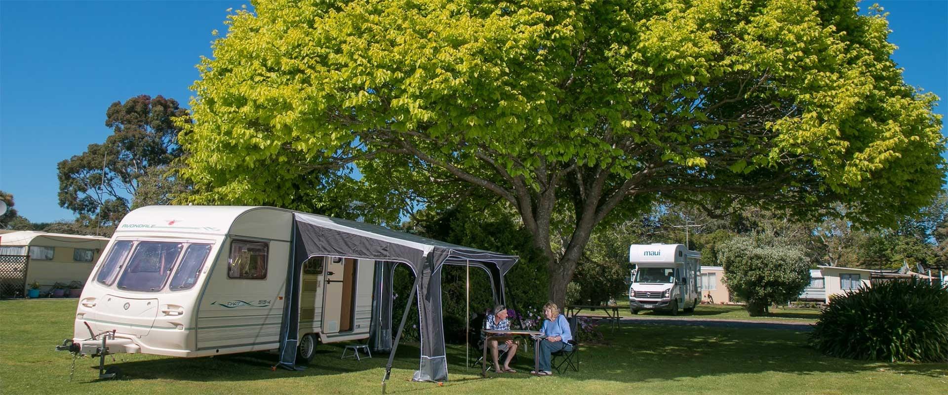 Orere Point caravan park