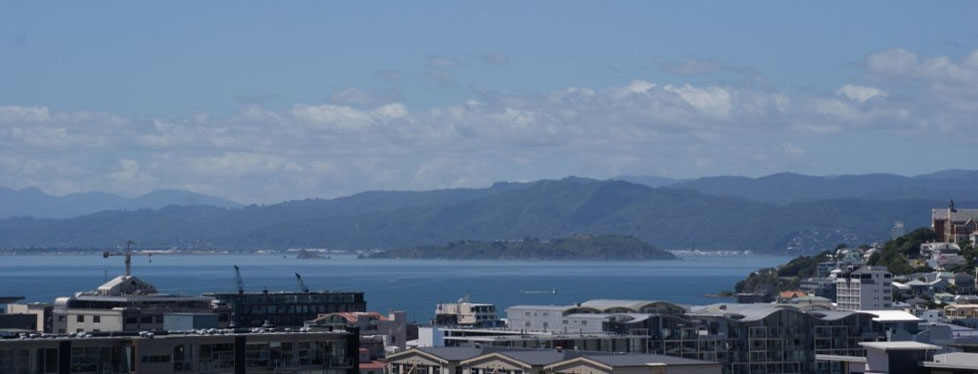 accommodation with stunning views of Wellington city and the harbour