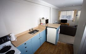 full cooking facilities available in our 2-bedroom unit