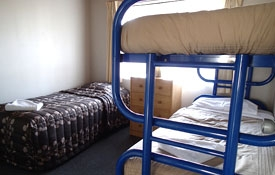 some units have bunk beds in the second room