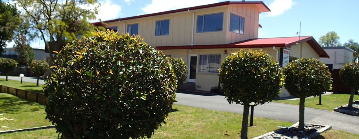 centrally located Taupo motel