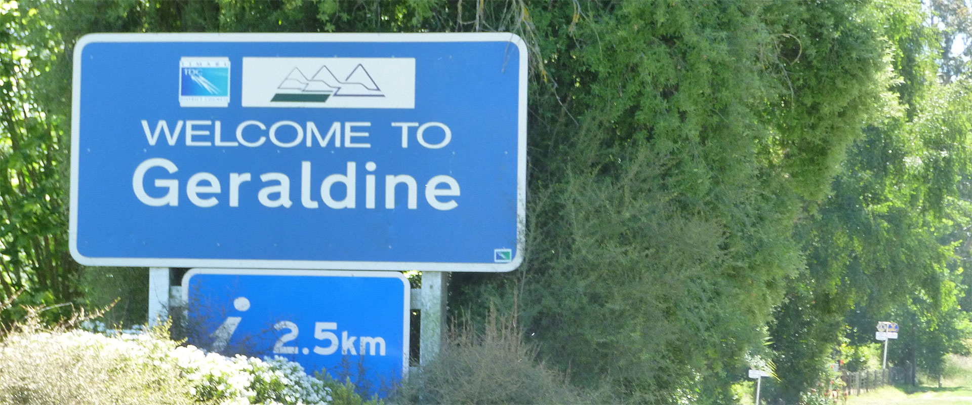 welcome to geraldine