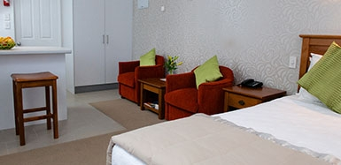 a wide range of accommodation options available