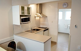 kitchenette with tea/coffee-making facilities