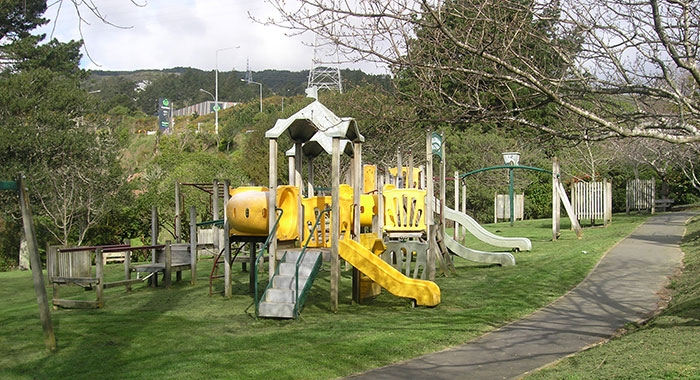 kids playground in Willowbank Reserve