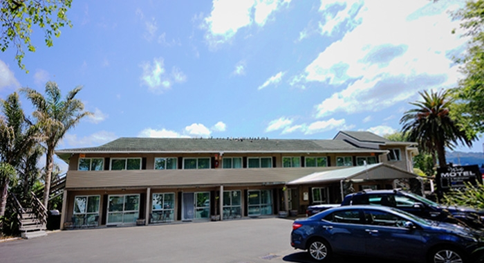Waihi Motel complex
