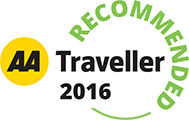 AA Traveller Recommended 2016
