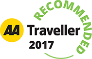 AA Traveller Recommended 2017
