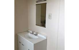 bathroom of studio unit