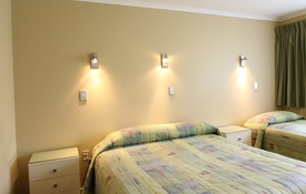 1 Bedroom can accommodate 3 guests