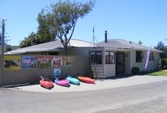 Harbourside Holiday Park facilities, Whitianga, New Zealand