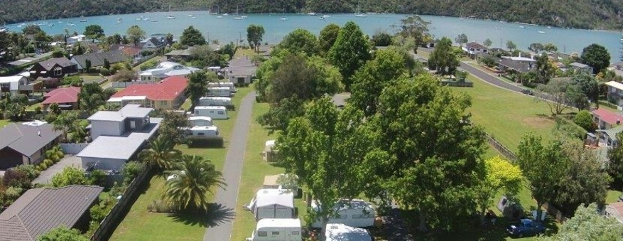 Harbourside Holiday Park, Whitianga, New Zealand