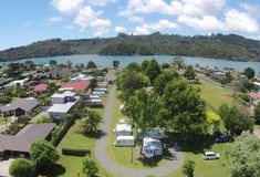 Harbourside Holiday Park facilities, Whitianga, New Zealand