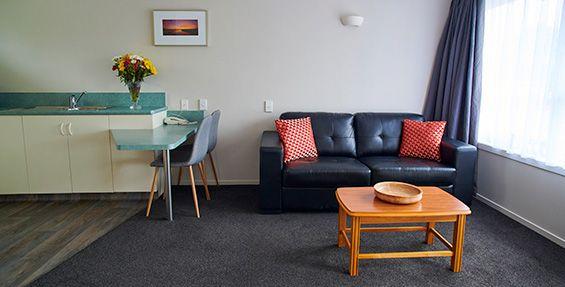 1-Bedroom Unit sofa