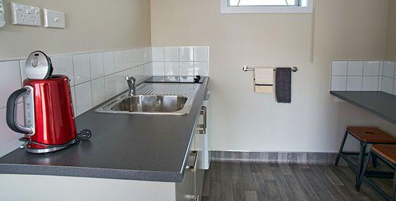 Twin Studio Units kitchenette