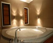 Spa pools accommodation