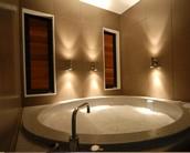 Self-fill spa pool