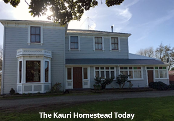 The kauri Homestead today