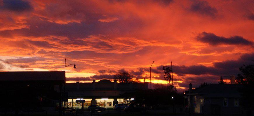 Lumsden sunset