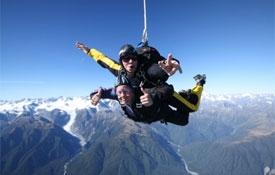 Skydive Fox Glacier