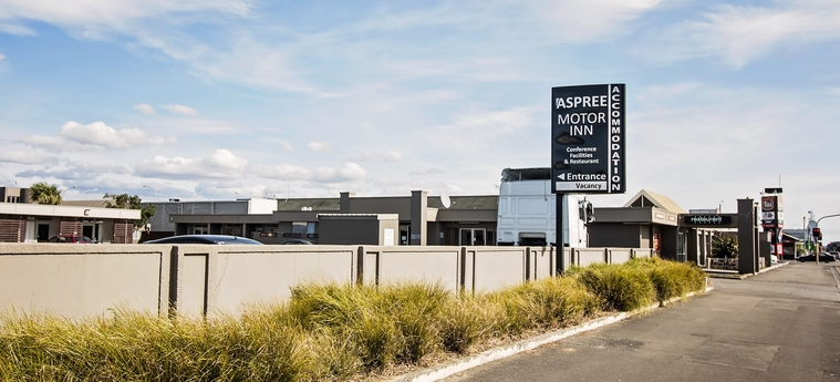 free on-site parking at Aspree motel in Palmerston North
