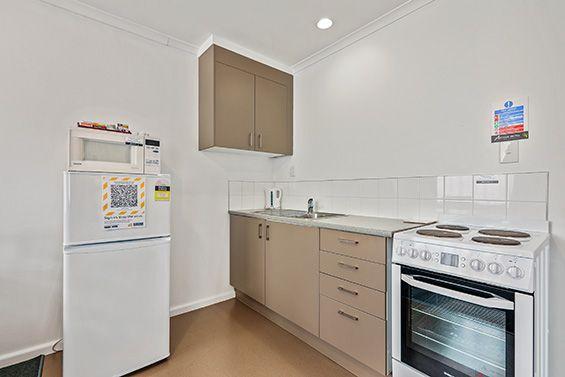 1-Bedroom Studio kitchen