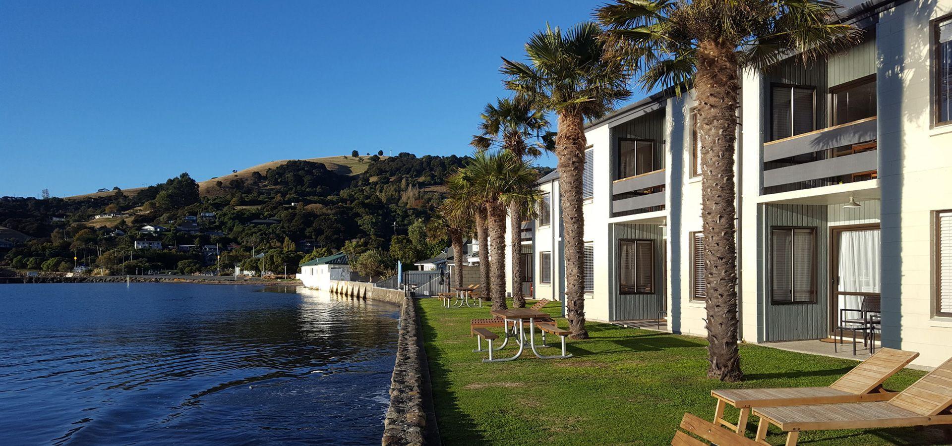 Akaroa waterfront accommodation