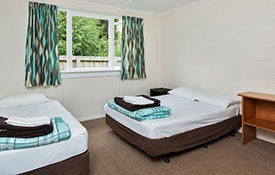 Standard Cabin bedroom with double beds