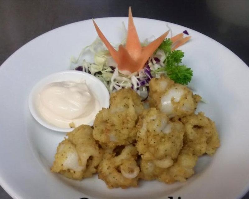 prawns Thai dish
