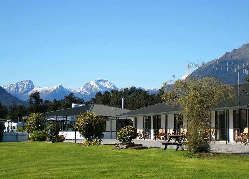 Heritage Park Lodge in Haast New Zealand
