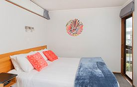 beautifully decorated motel units