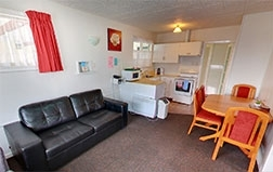 two-bedroom unit suitable for large families and sports group - can sleep up to 6 people