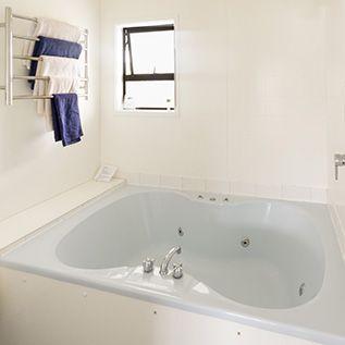 double spa bath