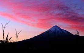 story of Taranaki Mountain