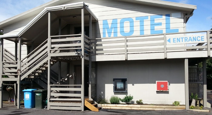 New Plymouth motel