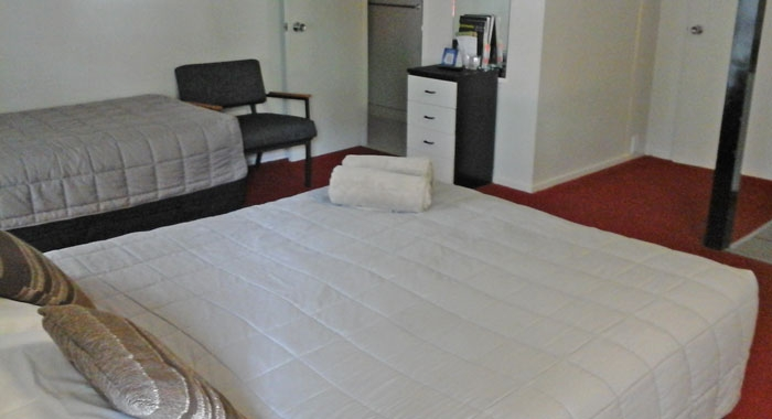clean spacious accommodation