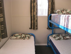 1 set of bunk bed and 1 single bed