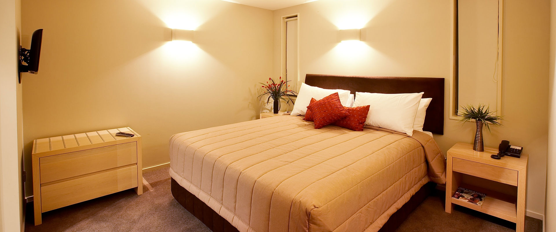 high quality comfortable beds in every room
