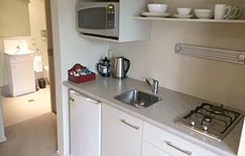 kitchen facilities of Queen Studio