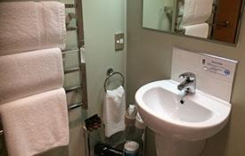 bathroom of access 1-bedroom apartment