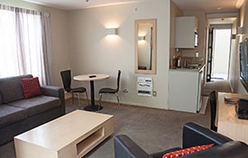 one-bedroom apartment with access facilities
