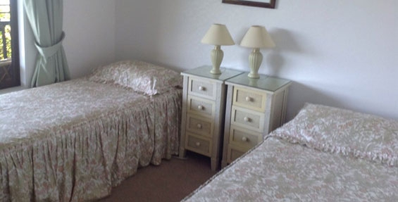 a choice of having two single beds in one room